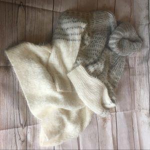 Sleeping on Snow Anthro sweater tunic/dress M